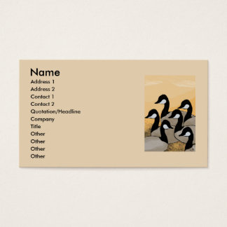 six geese business card