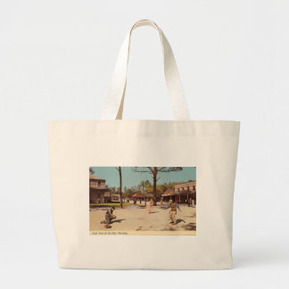 Six Gun Territory Theme Park (Ocala, FL) Large Tote Bag