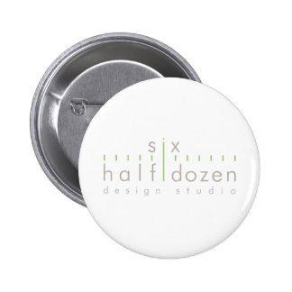 Six Half Dozen Pinback Button