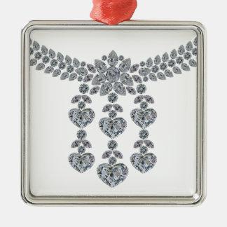 Six Heart Necklace Metal Ornament
