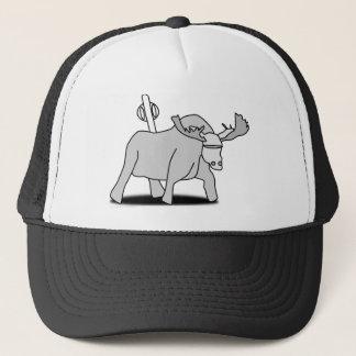 Six Inch Mechanical Moose Hat