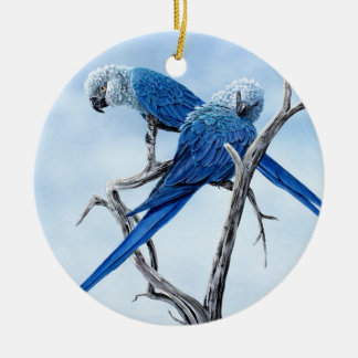 Six Macaw gifts for the Parrot lover Ceramic Ornament