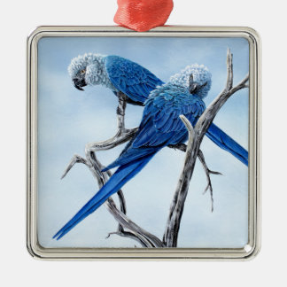 Six Macaw gifts for the Parrot lover Metal Ornament