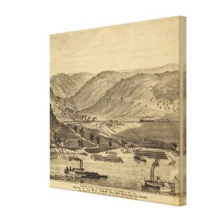 Six Mile Ferry Canvas Print