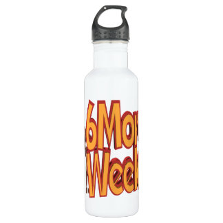 Six More Weeks Stainless Steel Water Bottle