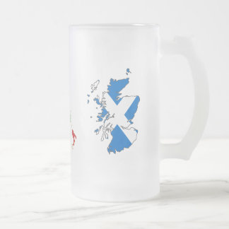 Six Nations Championship 11th Series Frosted Glass Beer Mug