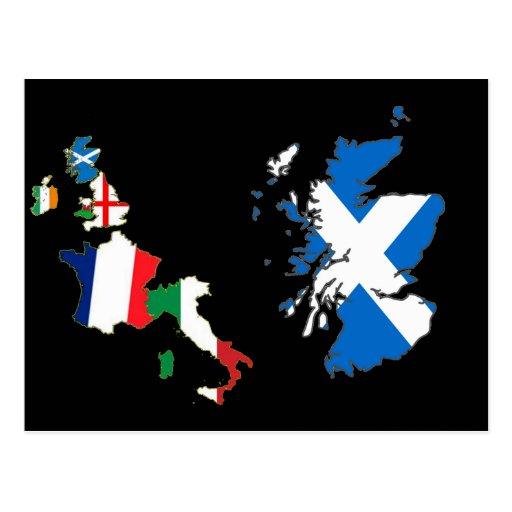 Six Nations Championship 11th Series Postcard
