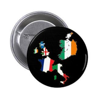 Six Nations Championship 11th series T-Shirt Button