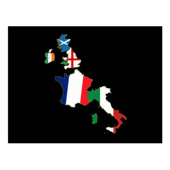 Six Nations Postcard