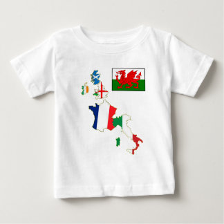Six Nations Wales Baby T-Shirt