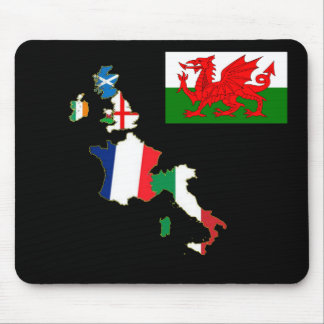 Six Nations Wales Mouse Pad