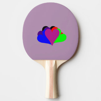 six of hearts ping pong paddle