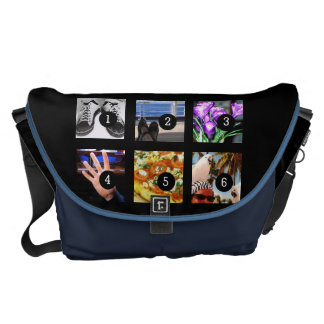 Six of Your Photos Make Your Own Momento Courier Bag