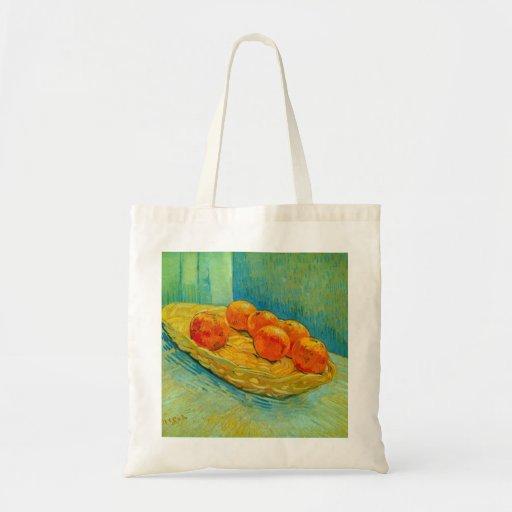Six Oranges by Vincent van Gogh Bag