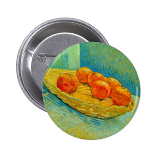 Six Oranges by Vincent van Gogh Pinback Button