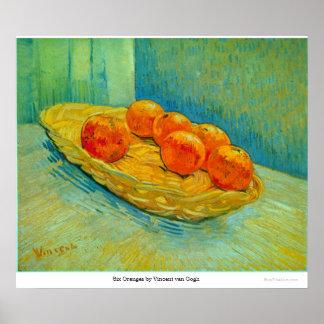 Six Oranges by Vincent van Gogh Print