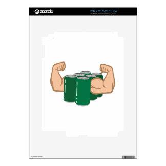 Six Pack Bro iPad 2 Skins