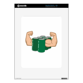 Six Pack Bro iPad Skin