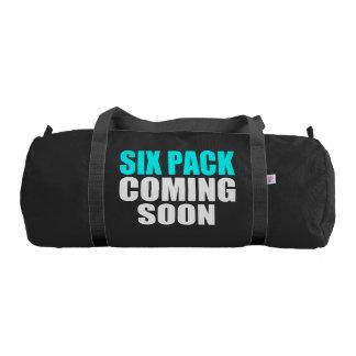 Six Pack Coming Soon Duffle Bag