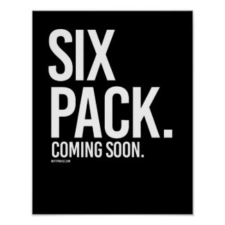 Six pack coming soon -   Guy Fitness -.png Poster