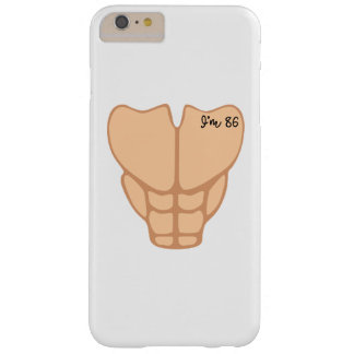 Six Pack I'm 86th Birthday Funny Men Barely There iPhone 6 Plus Case