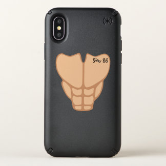 Six Pack I'm 86th Birthday Funny Men Speck iPhone X Case