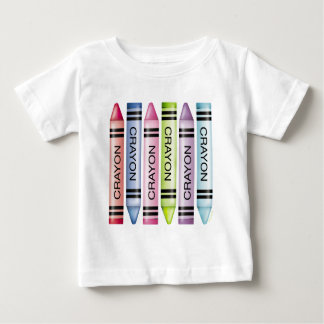 Six Pastel Crayons T Shirts