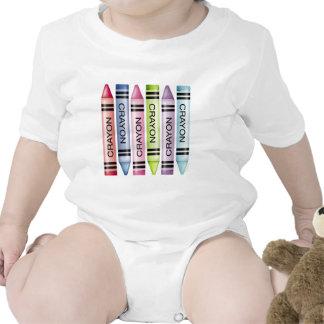 Six Pastel Crayons T-shirts