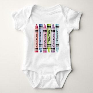 Six Pastel Crayons Tshirts