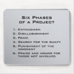 Six Phases of a Project Mouse Pads