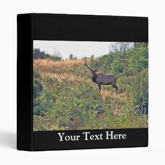 Six Point Elk Photo 3 Ring Binder