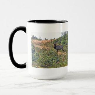 Six Point Elk Photo Mug