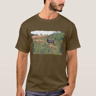 Six Point Elk Photo T-Shirt