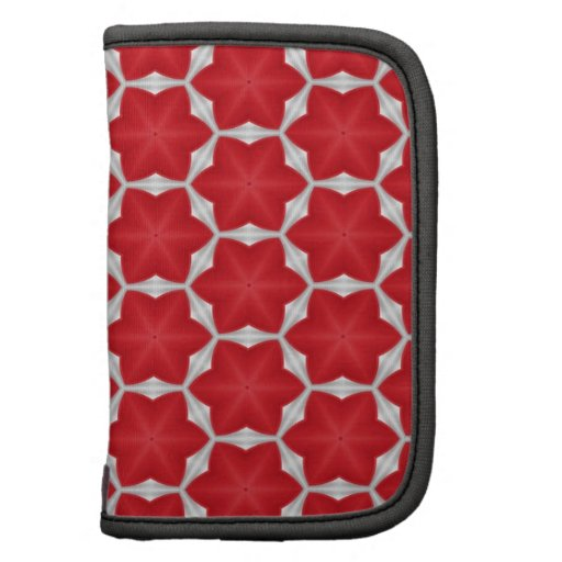 Six Point Red Star Pattern Planner