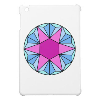 Six Pointed Star Gem1 Case For The iPad Mini