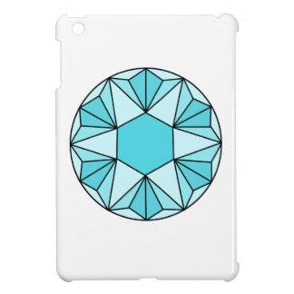 Six Pointed Star Gem3 iPad Mini Covers