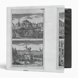 Six royal statues destroyed in Paris 3 Ring Binder