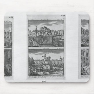 Six royal statues destroyed in Paris Mouse Pad