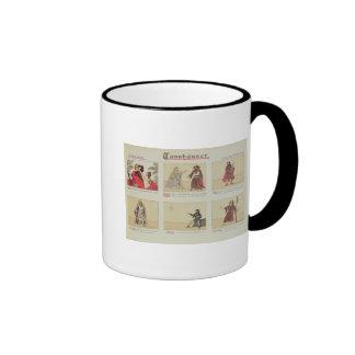Six scenes relating to the opera 'Tannhauser' Ringer Mug