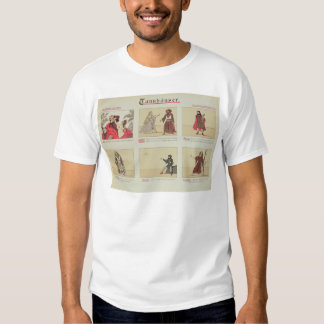 Six scenes relating to the opera 'Tannhauser' T Shirt