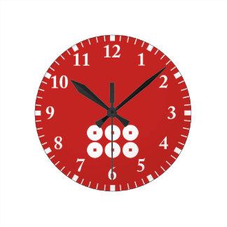Six sentence sen round clock