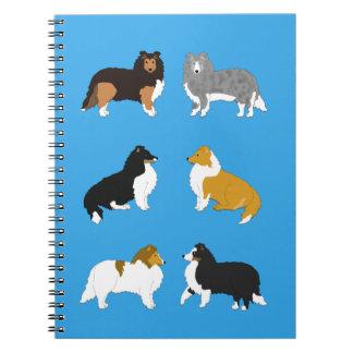Six Shelties Notebook