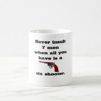 Six Shooter Mugs