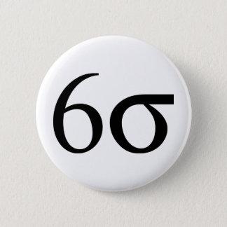 Six Sigma (Lean Six Sigma) Button