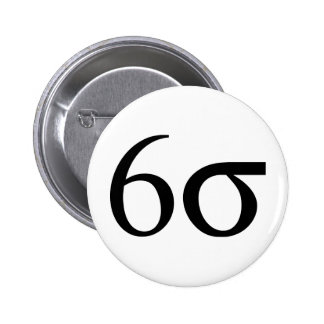 Six Sigma (Lean Six Sigma) Button