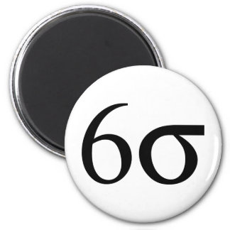 Six Sigma (Lean Six Sigma) Magnet