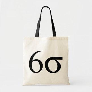 Six Sigma (Lean Six Sigma) Tote Bag