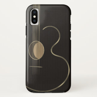 Six String Acoustic Guitar iPhone X Case