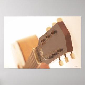 Six String Guitar Poster
