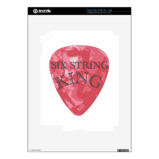 Six String King Decal For iPad 2